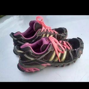 Adidas running hiking shoea